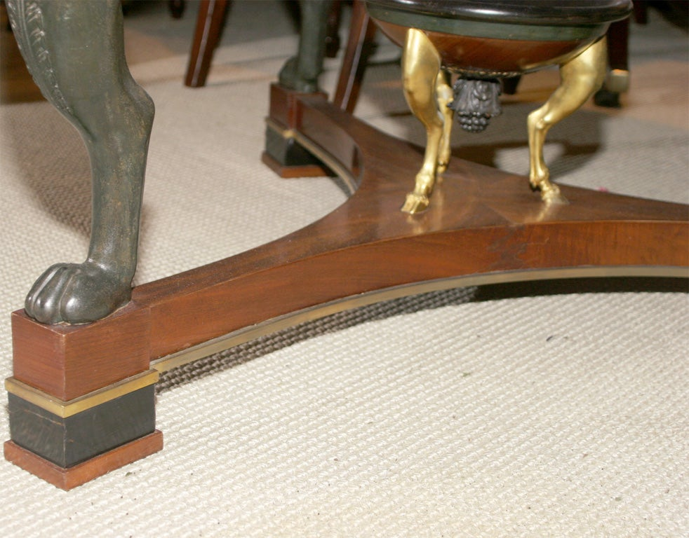 French Empire Center Table For Sale 3