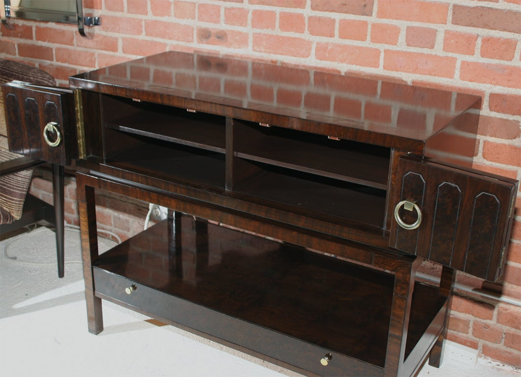 Mid Century Media Console at 1stdibs