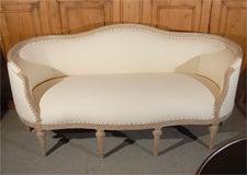 Gustavian Style Settee image 2