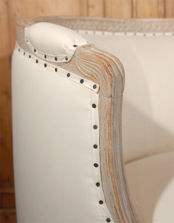 Gustavian Style Settee 4