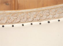 Gustavian Style Settee image 5