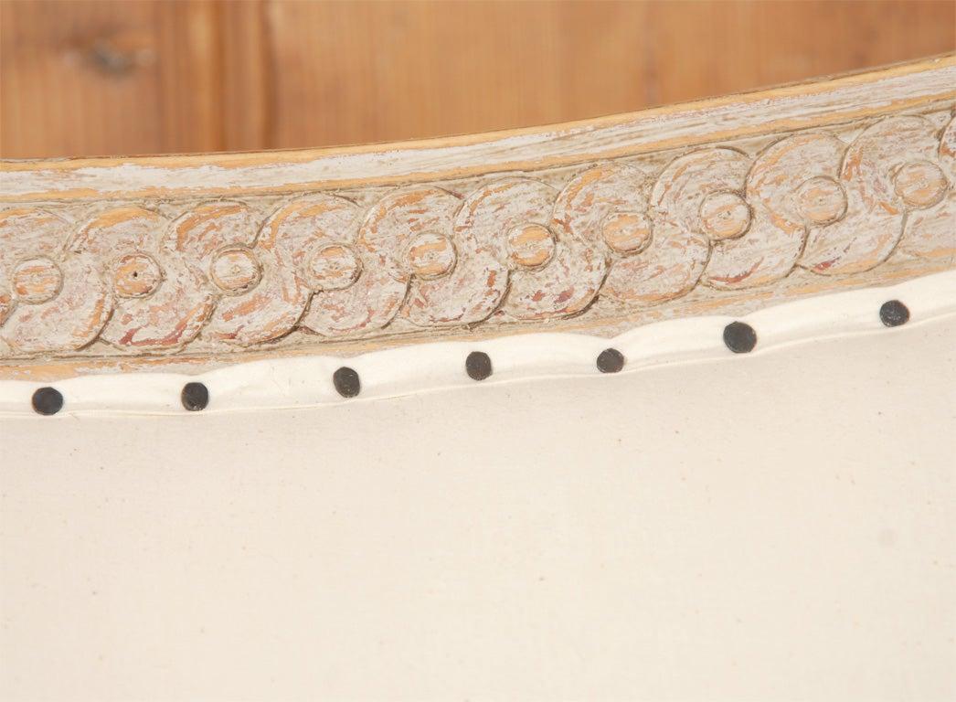 Gustavian Style Settee 5