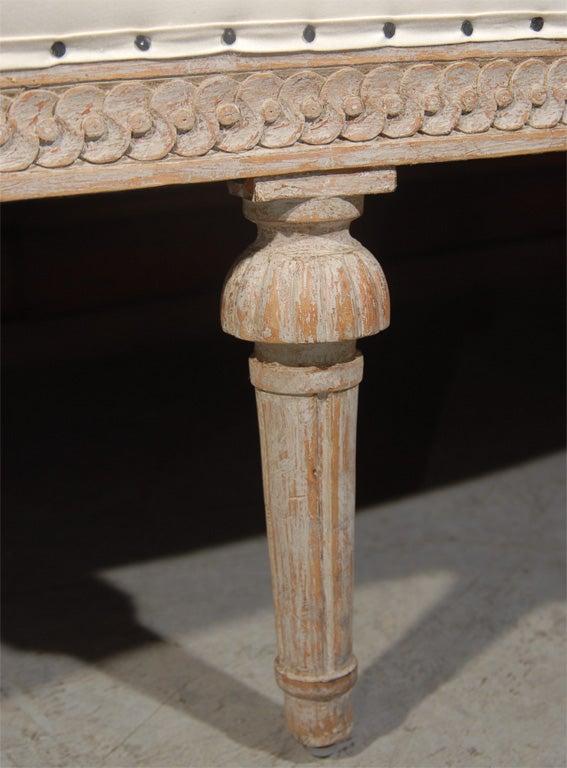 Gustavian Style Settee 7