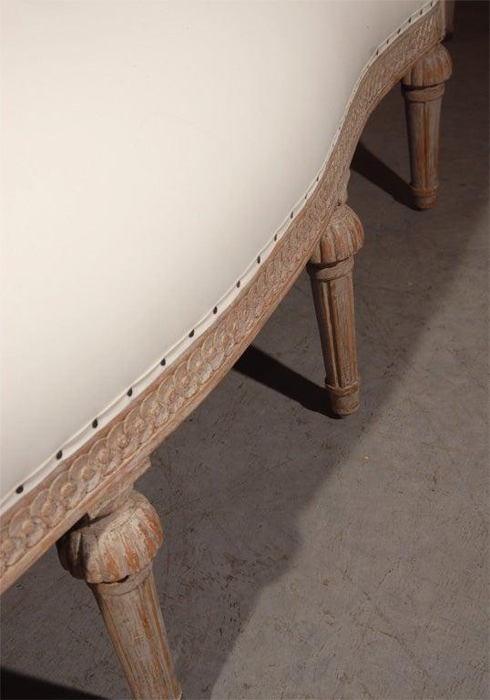 Gustavian Style Settee 8