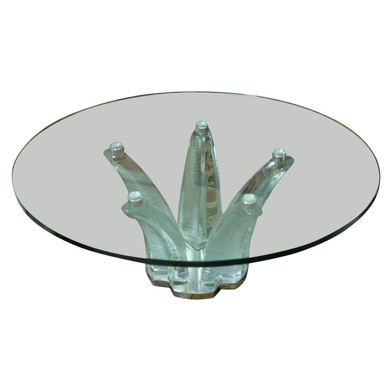 baccarat crystal coffee table at 1stdibs