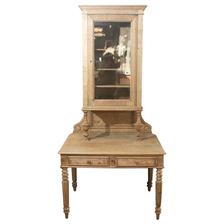antique vitrine secretary at 1stdibs. Black Bedroom Furniture Sets. Home Design Ideas