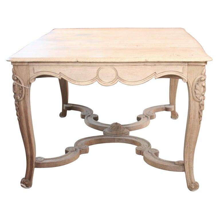 antique oak dining room