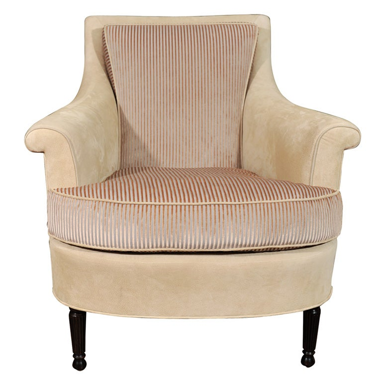 French Style Club Chair At 1stdibs