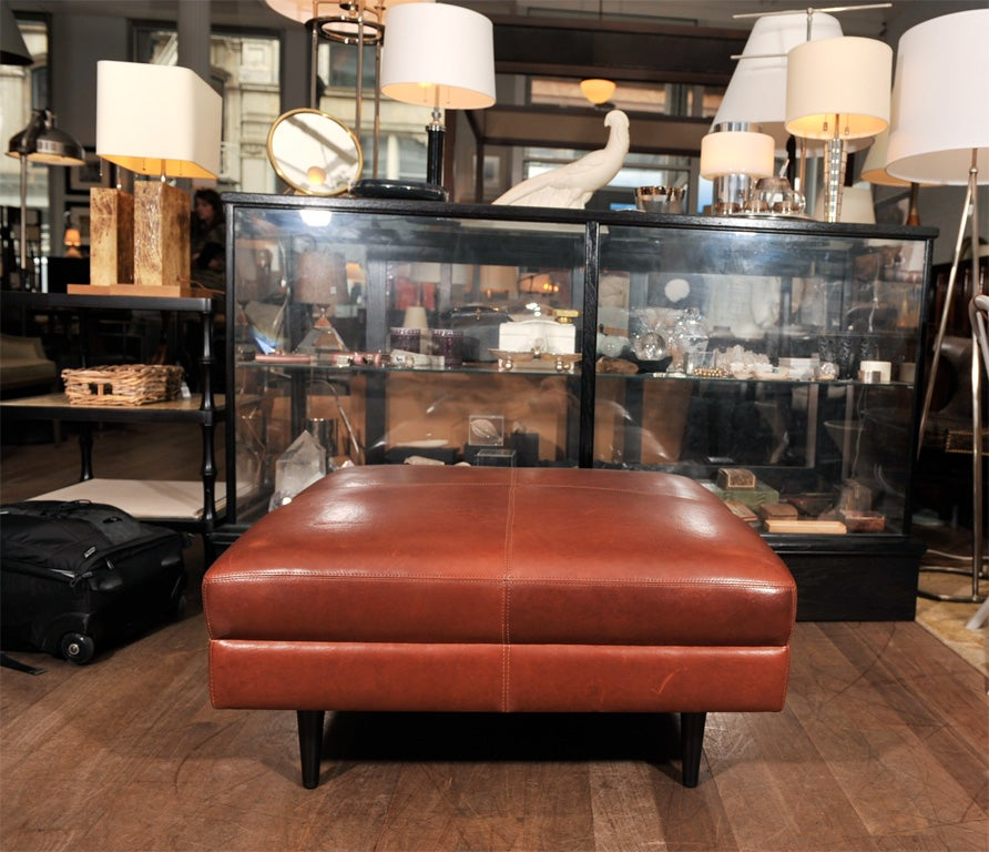 Extra Large Square Ottoman At 1stdibs