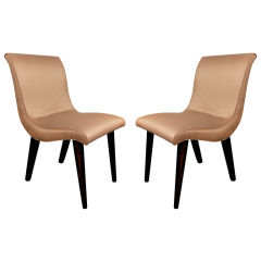 Set of Six 1940's Dining Chairs Designed by Russel Wright