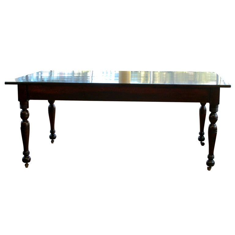 harvest dining table at 1stdibs