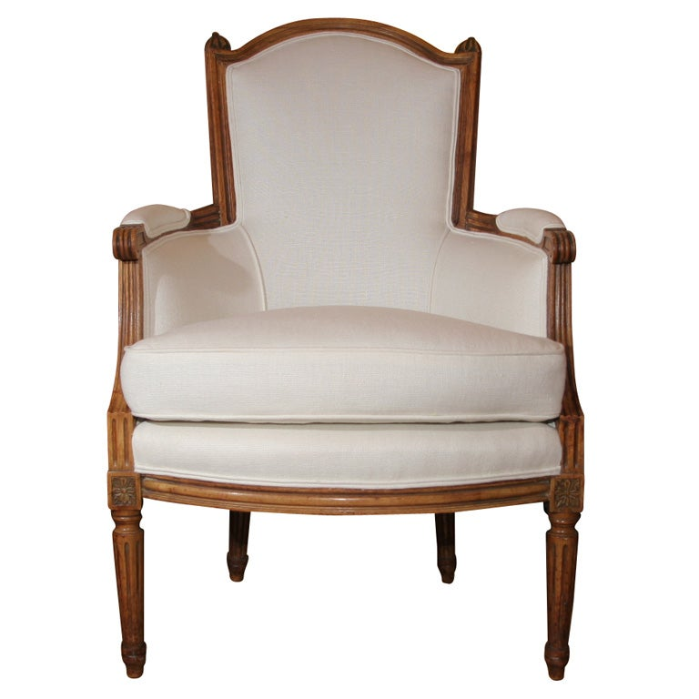 Louis Xvi Style Bergere Chair At 1stdibs