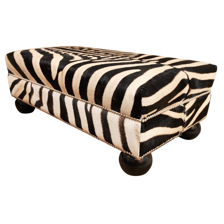 Zebra Ottoman, Offered by Area ID