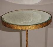 Gold Leafed Three-Legged Gueridon image 2