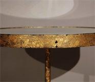 Gold Leafed Three-Legged Gueridon image 5