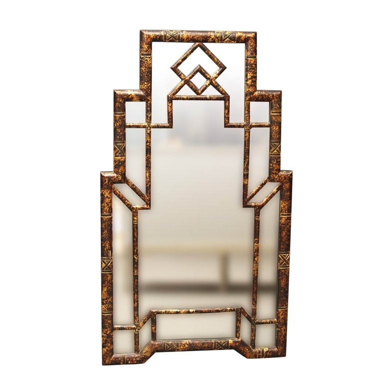 Italian Chinoiserie Mirror At 1stdibs
