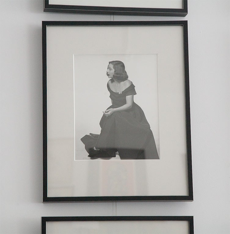 Mid-20th Century Original Photographs of Tallulah Bankhead by Philippe Halsman For Sale