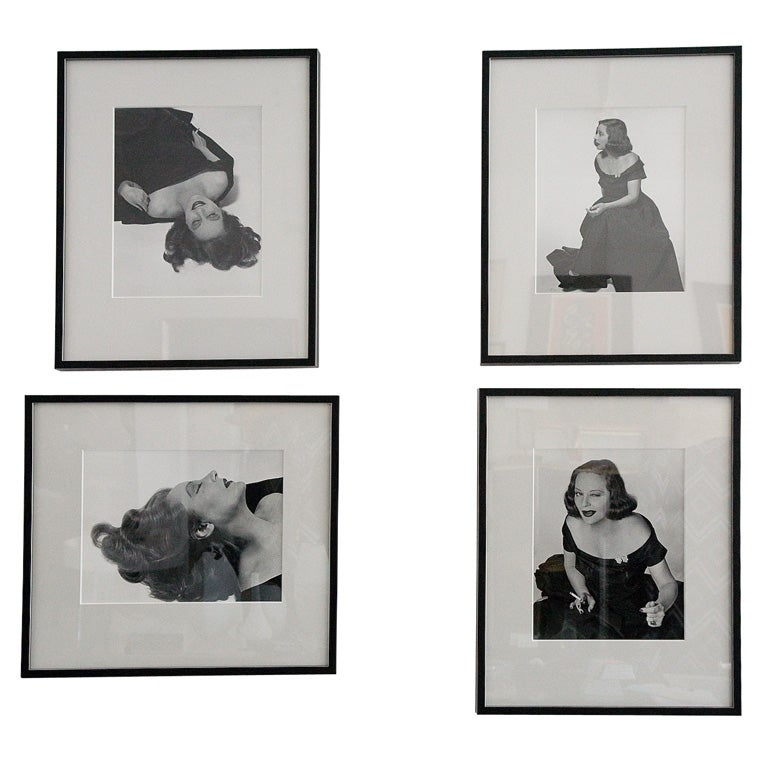 Original Photographs of Tallulah Bankhead by Philippe Halsman For Sale