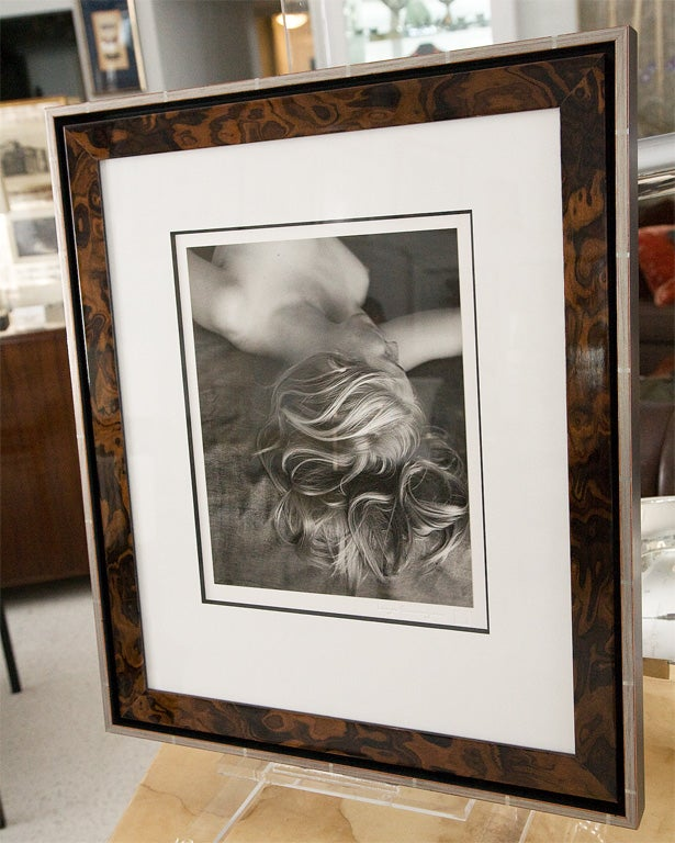 Framed Silver Print from Original Negative by Imogen Cunningham 2