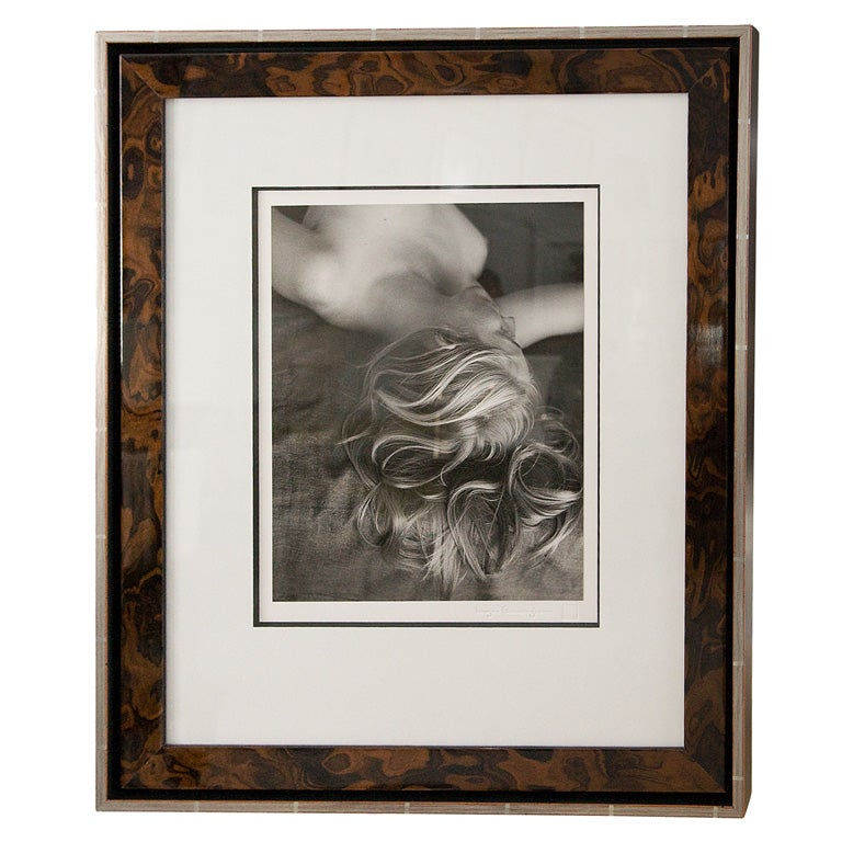 Framed Silver Print from Original Negative by Imogen Cunningham For Sale
