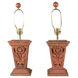 Architectural Terracotta Lamps