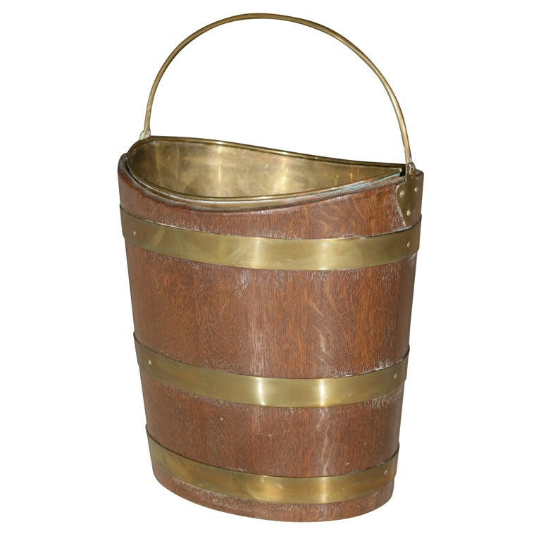 Irish Peat Bucket For Sale