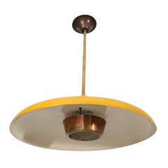French 1950s Ceiling Lamp