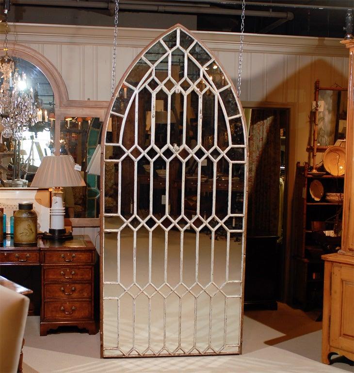 Gothic Iron Arch Mirror 2