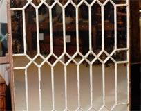 Gothic Iron Arch Mirror image 4