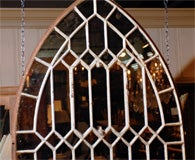 Gothic Iron Arch Mirror image 5