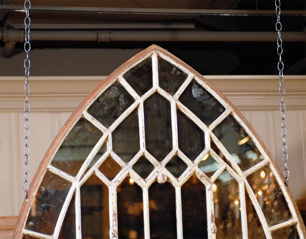 Gothic Iron Arch Mirror 6
