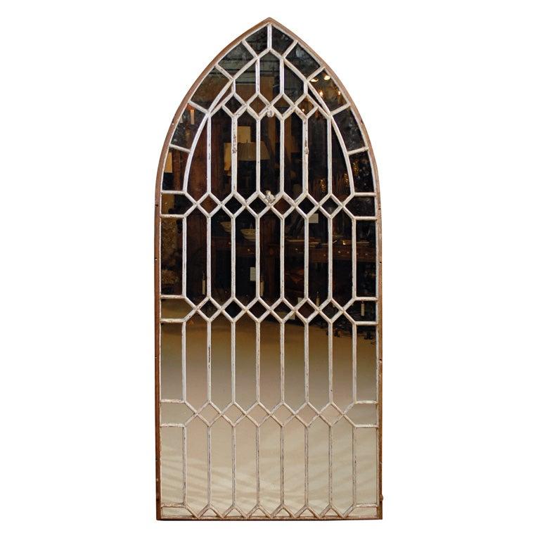 Gothic Iron Arch Mirror
