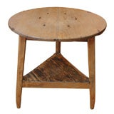 18th Century Welsh Pine Cricket Table