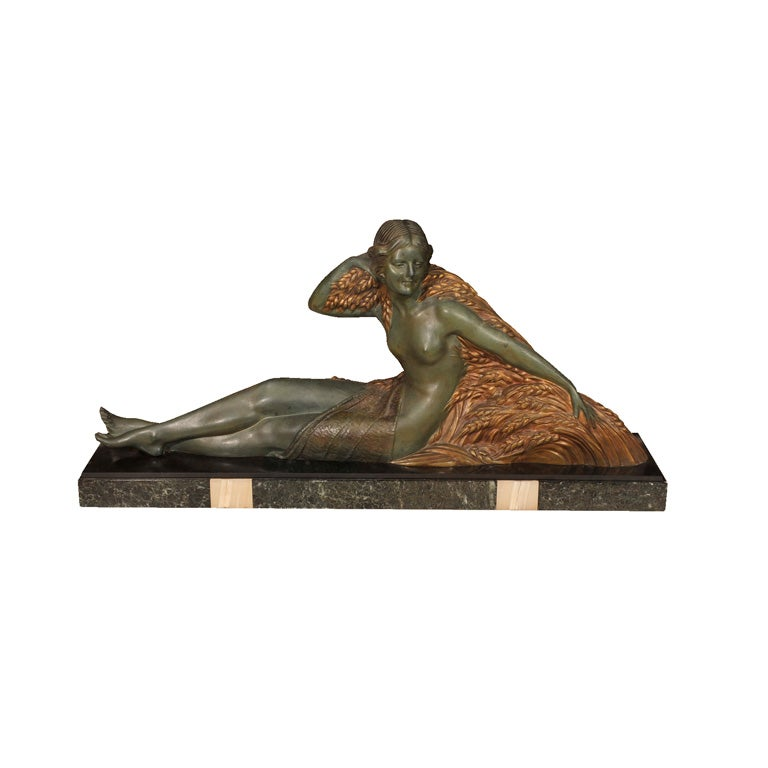 Art Deco Bronze Figure by D.H. Chiparus