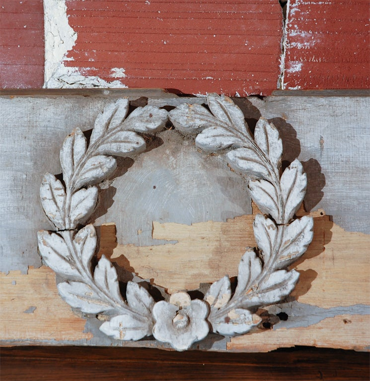 CT Horse Barn Architectural Carved Acanthus Panel, circa 1870 6