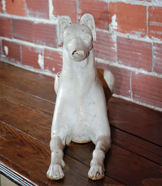 Late 19th Century Fiske Foundry Cast Iron Whippet 6