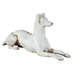 Late 19th Century Fiske Foundry Cast Iron Dog