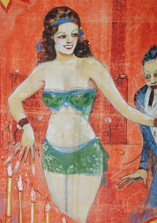 American Original Coney Island Sideshow Banner Millard & Bulsterbaum