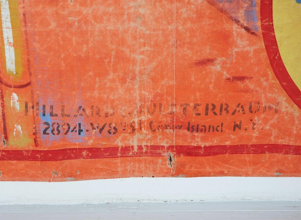 Original Coney Island Sideshow Banner Millard & Bulsterbaum 2