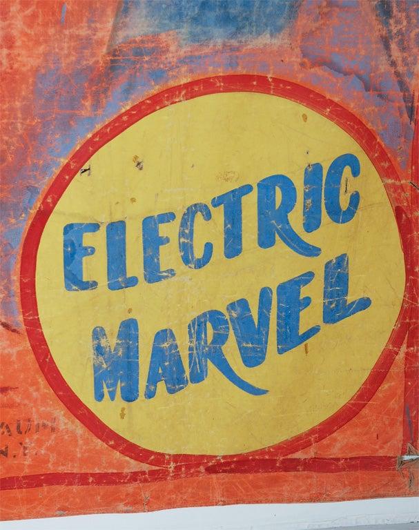 Original Coney Island Sideshow Banner Millard & Bulsterbaum 3