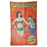 Original Coney Island Sideshow Banner Millard & Bulsterbaum
