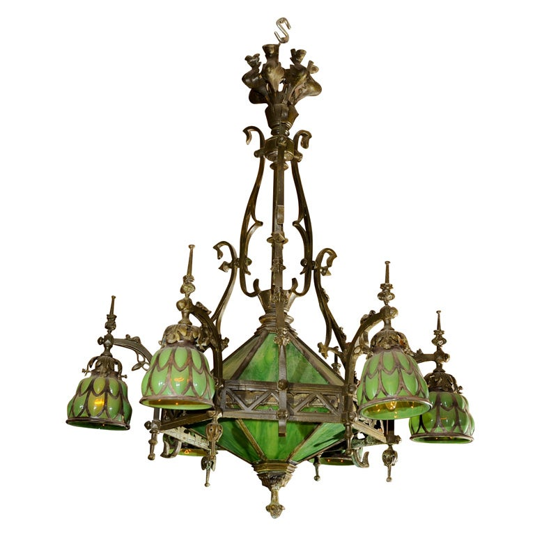 Gothic Chandelier At 1stdibs