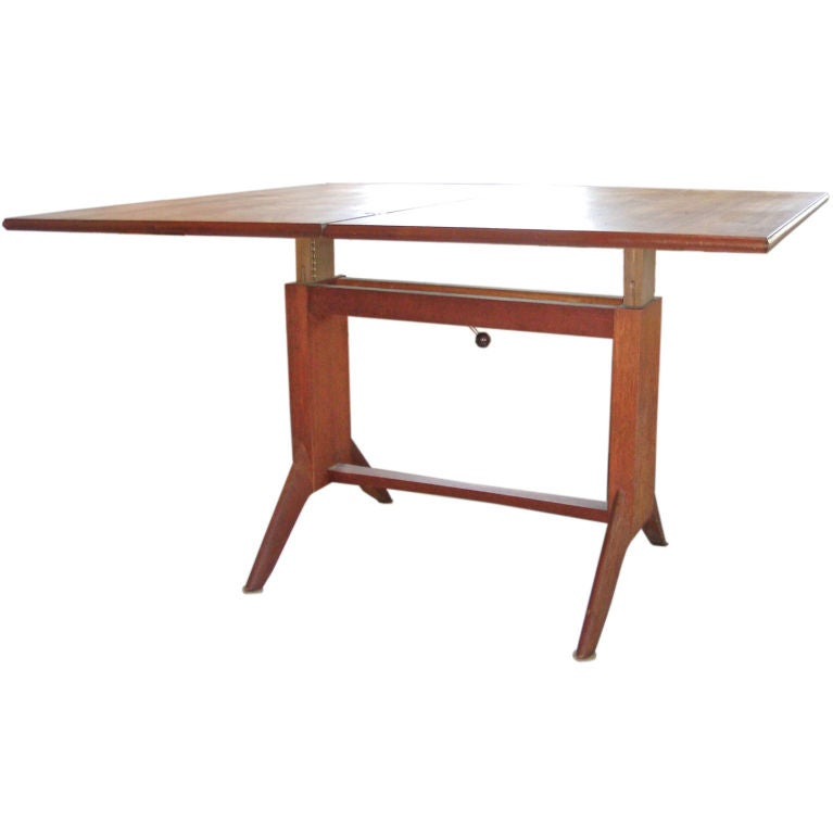 Adjustable Folding Coffee Dining Game Table At 1stdibs