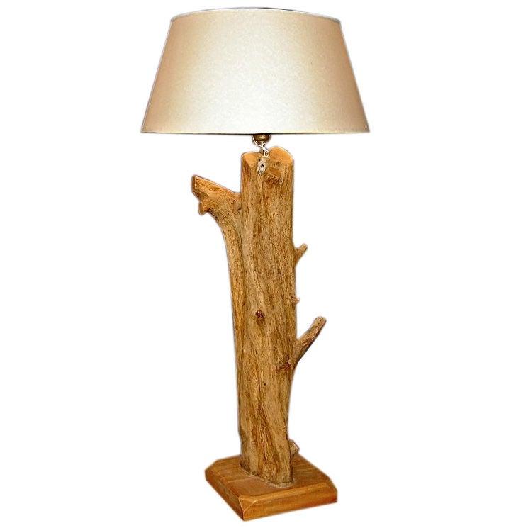 Unusual Driftwood Table Lamp At 1stdibs