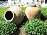 Antique oil jars
