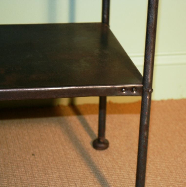 Pair of Industrial Night Stands at 1stdibs