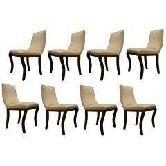 set of 8  Centaure Dinning Chairs