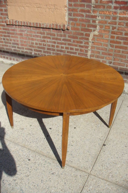 """1930""""s French style  Round Dining Table 5"""