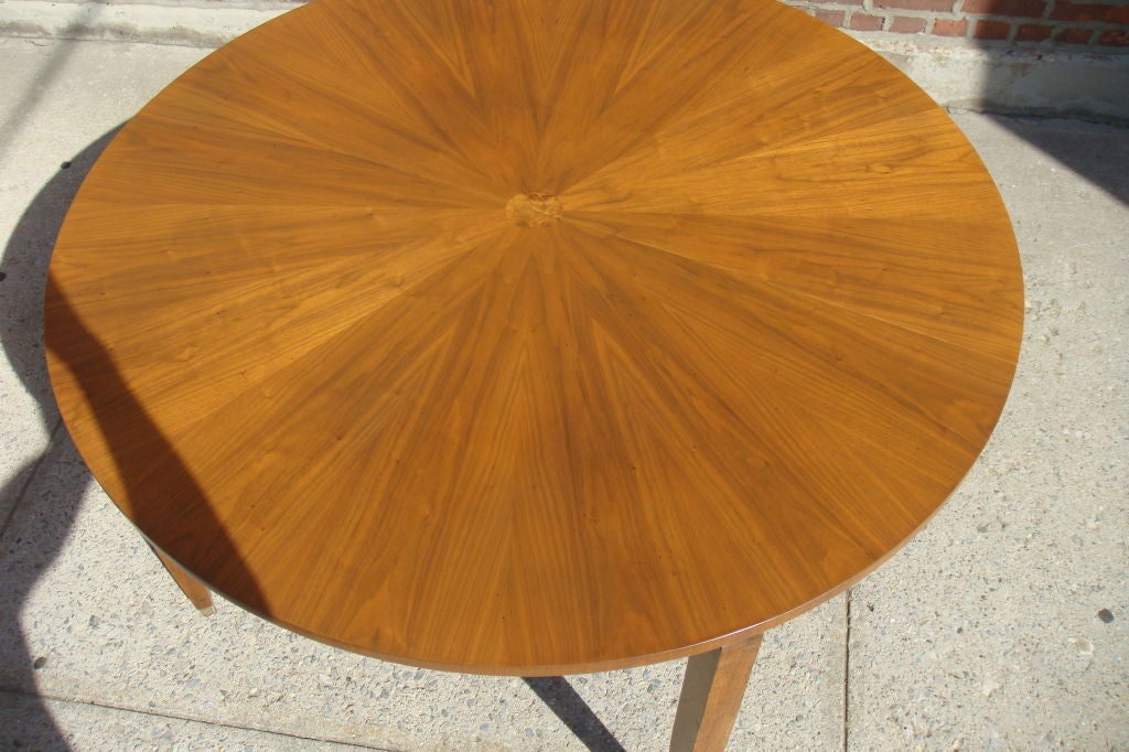 """1930""""s French style  Round Dining Table 4"""