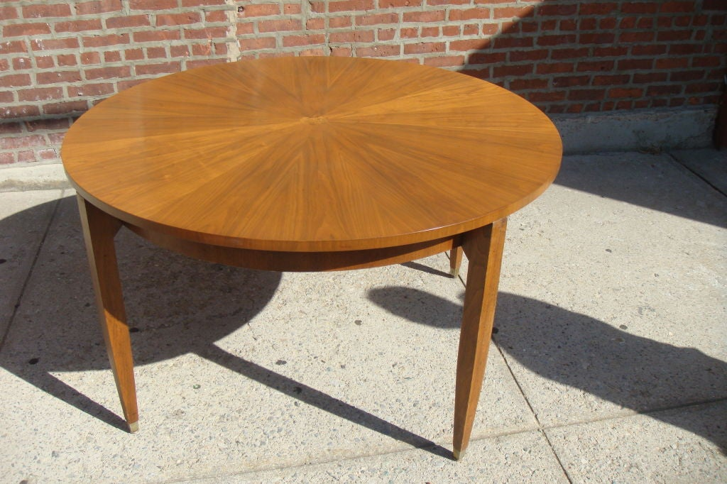 1930 S French Style Round Dining Table At 1stdibs